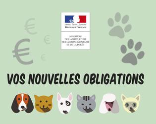 Nouvelle législation pour la cession d'animaux